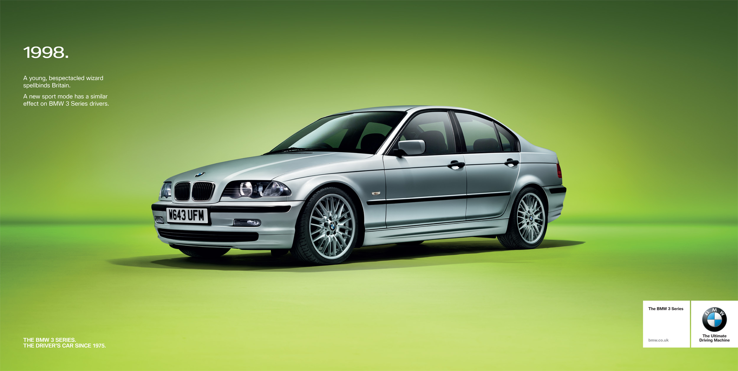 Mark Bramley BMW 3 Series Campaign