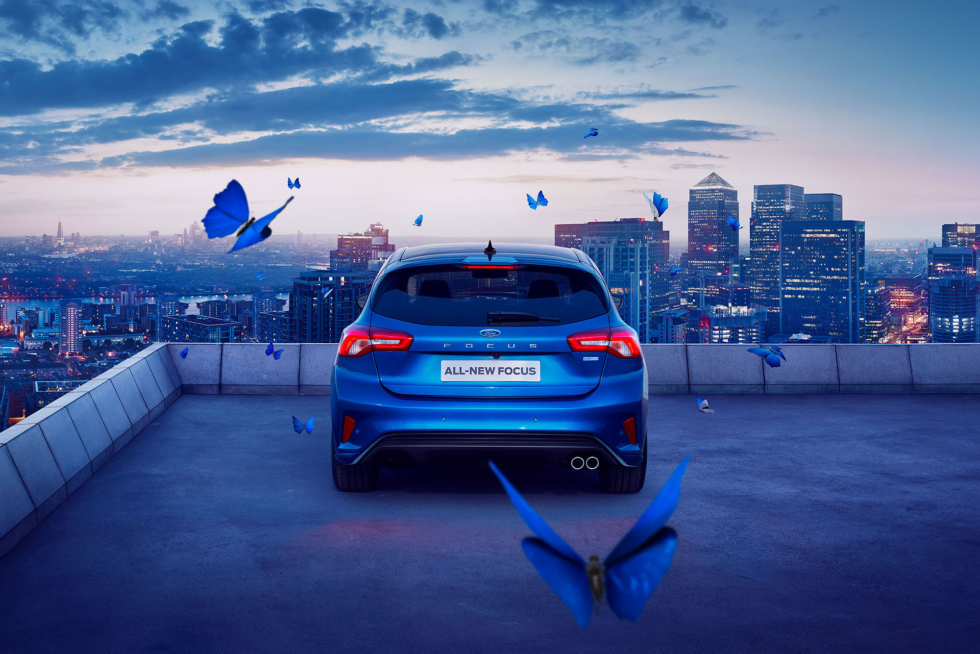 Mark Bramley Ford Focus Campaign