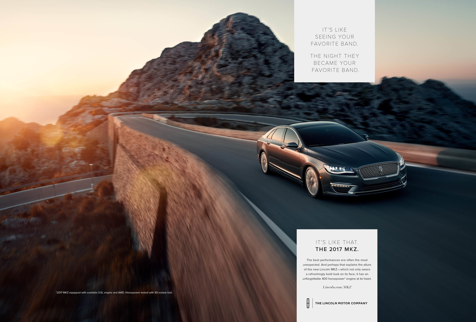 Mark Bramley Lincoln MKZ Campaign