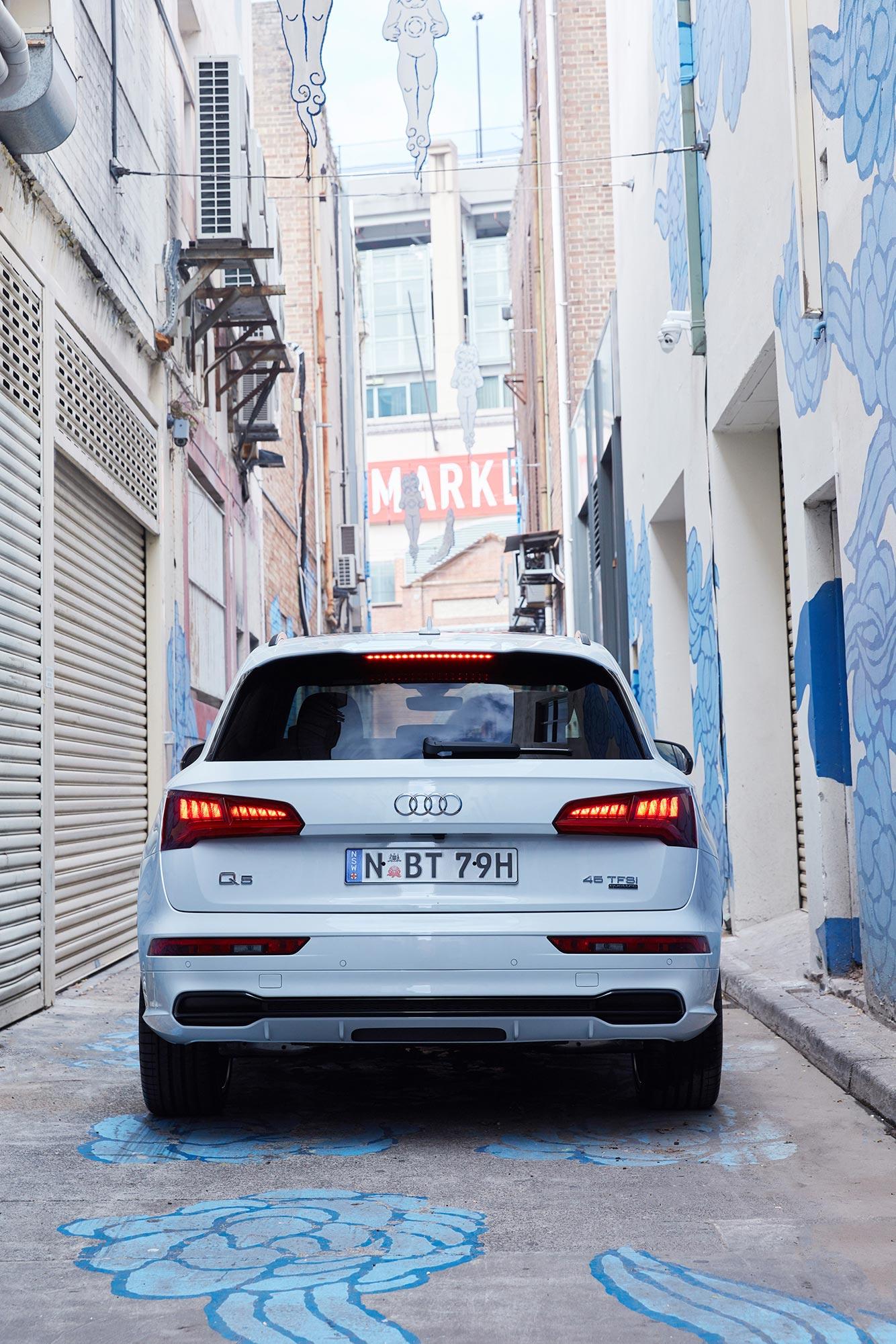 Mark Bramley Audi Q5 Black Edition