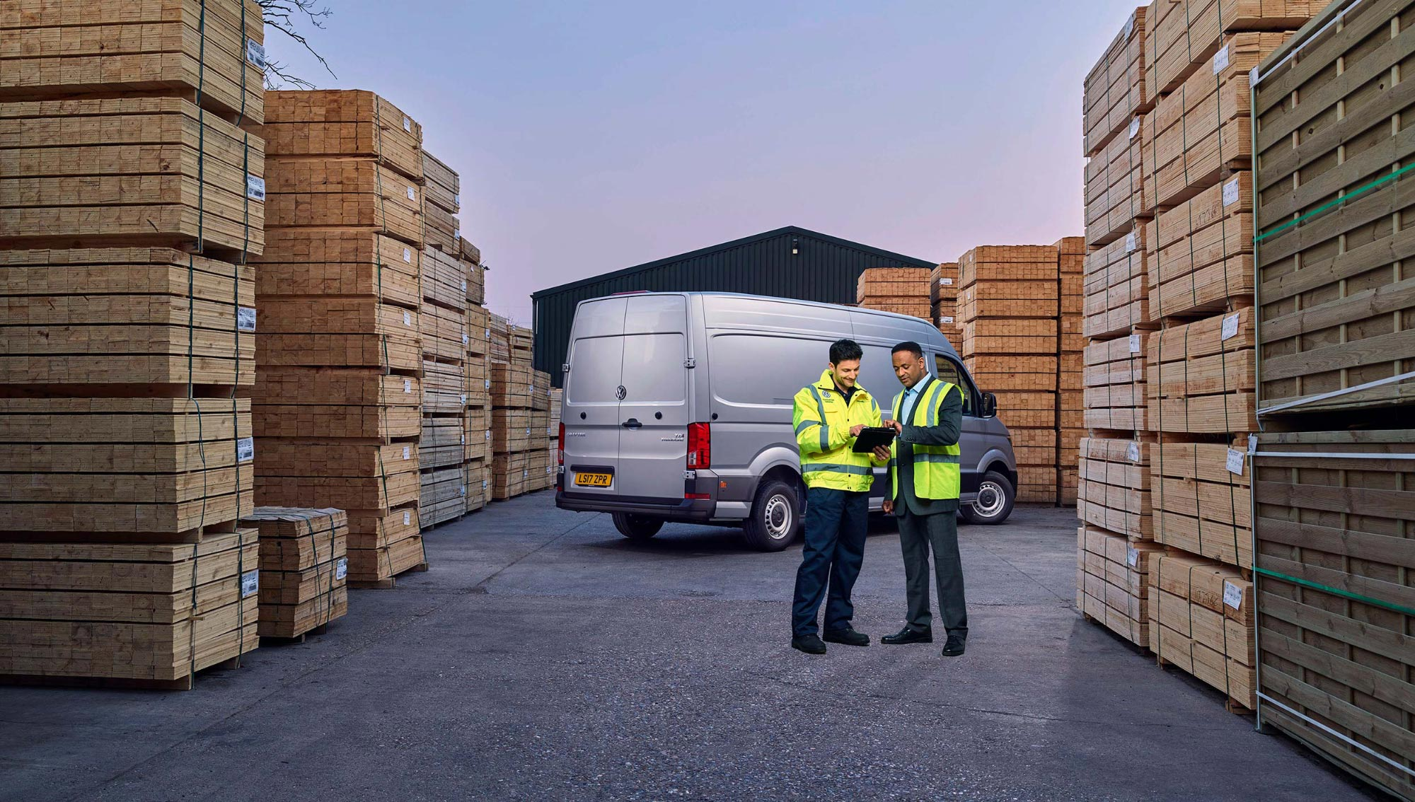 Mark Bramley VW Crafter Campaign